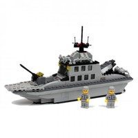 Light Cruiser - Lego Compatible Navy Ship