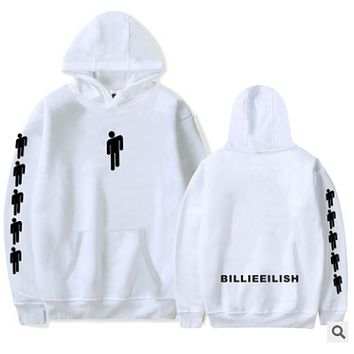 Billy Ellish Activity Peripheral Products Printed Hat Guards Hoodies