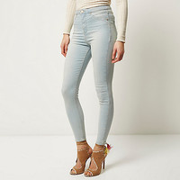 Light wash high waisted Molly jeggings - jeggings - jeans - women
