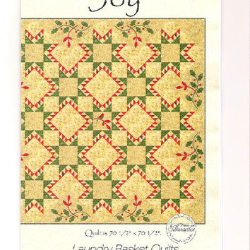Joy by Laundry Basket Quilts, quilt pattern