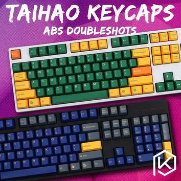DCCKFS2 taihao abs double shot keycaps for diy gaming mechanical keyboard color of top gun danger zone hydro biochemistry  radiation
