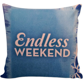 Endless Weekend Pillow