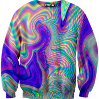 ☮♡ Nebular Holographic Sweater ✞☆