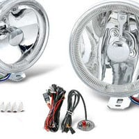4 inch round universal fog light w/ halo ring performance