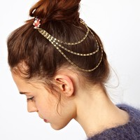 ASOS | ASOS Jewel & Chain Hair Combs at ASOS