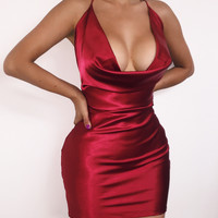 Amra Dress - Red