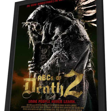 ABC's of Death 2 27x40 Framed Movie Poster (2014)