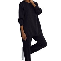 Fleece 2-pc sweatsuit $14.88