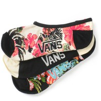 Vans Hawaiian Canoodle 3 Pack No Show Socks