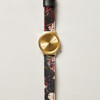 Still Life Watch by Komono Red Motif One Size Jewelry