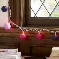 Woven Ball String Lights