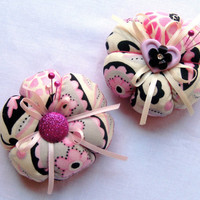 Flower Blossom Pincushion in assorted colors
