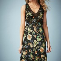 Kate Moss for Topshop Paisley Midi Dress (Nordstrom Exclusive)