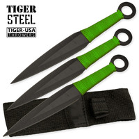 Zombie Killer 3pc Throwing Knives