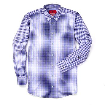 Goal Line Shirt in River Gingham by Southern Proper