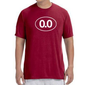 "Men's Short Sleeve Performance ""0.0"" T-Shirt"
