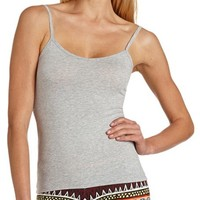 V-NECK COTTON CAMI