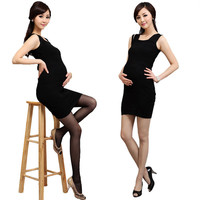 1pc Fashion Sexy Women Maternity Compression High Waist Socks Pregnancy Support