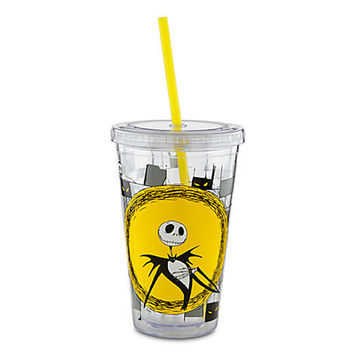Disney Tim Burton's The Nightmare Before Christmas Tumbler with Straw | Disney Store