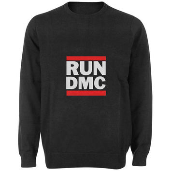 run dmc sweater Black and White Sweatshirt Crewneck Men or Women for Unisex Size with variant colour