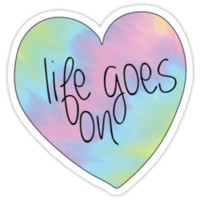 Life Goes On Heart by daniellecarley
