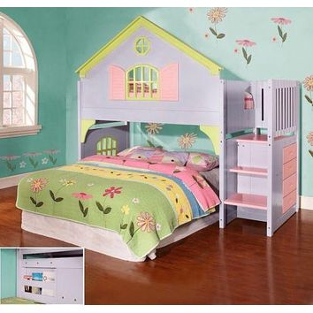 Isabella Doll House Loft Bed