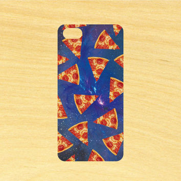 Space Pizza Design iPhone 4/4S 5/5C 6/6+ and Samsung Galaxy S3/S4/S5 Phone Case