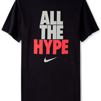Nike Shirt, All The Hype T-Shirt - T-Shirts - Men - Macy's
