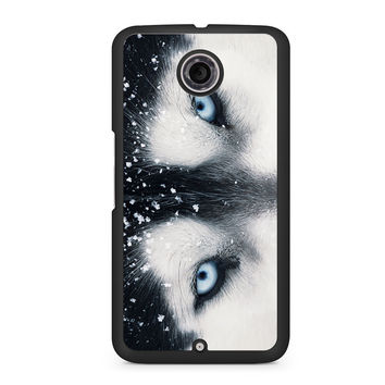 Wolf Eyes Nexus 6 case