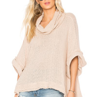Free People So Comfy Tee in Rose