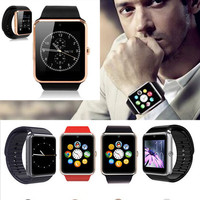 Wide Screen High End Apple Android Smart Watch For Any Smartphone