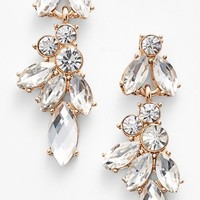 Junior Women's BP. Crystal Drop Earrings
