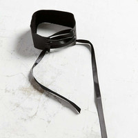 Leather Tie Choker Necklace - Urban Outfitters