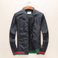 GUCCI tide brand fashion men and women casual jacket F-A00FS-GJ