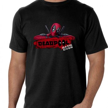 Dead Pool Game Over T-shirt for Men