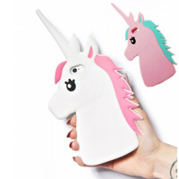 Hot New Fantastic Cartoon Unicorn Horse Soft Silicone Mobile Phone Cases Cover For iPhone 4 4G 4S 5 5G 5S 6 6G 6S 4.7 6Plus 5.5