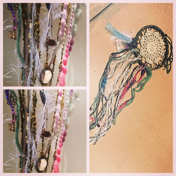Big dreamer dreamcatcher size large by TheLittleBigShop on Etsy