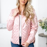 Women's Quilted Boston Flight Jacket | Charles River