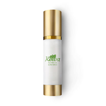 #1 Best Pure Tea Tree Oil Acne Serum by Keeva. Natural Acne Killer Treats Acne Blemishes, Spots, Scars, Bacne, Pimples, Blackheads, 30ml. 100 Day Full Money Back Guarantee