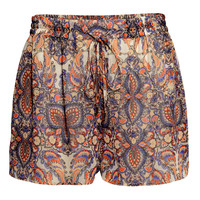 H&M Patterned Shorts $12.95
