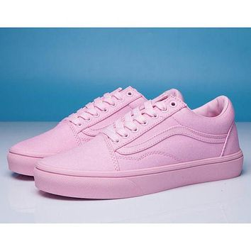 Vans Classic Men's and Women's Fashion Flat Sneakers F