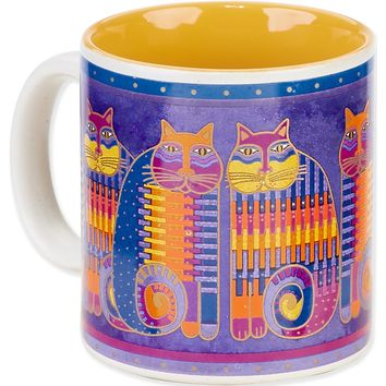 Rainbow Cat Cousins Laurel Burch Artistic Mug Collection