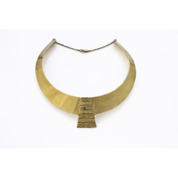 Egyptian Collar Necklace