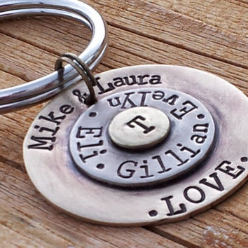 Personalized Key Chain Perfect for Father's Day