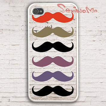 Mustache Iphone 4 Case, iPhone 4s Case, iPhone Case, iPhone 4 Hard Case