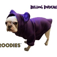 French Bulldog Boston Terrier Froodies Hoodies USA Grape Sweatshirt Jacket Coat