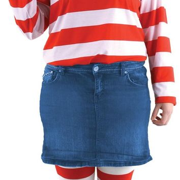 Where's Waldo Wenda Pls Sz Kit Costume