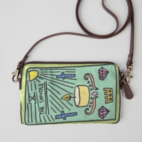 candle tarot clutch
