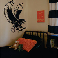 Eagle Bird Design Animal Decal Sticker Wall Vinyl Decor Art