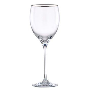 Lenox Timeless Platinum Signature Crystal Wine Glass
